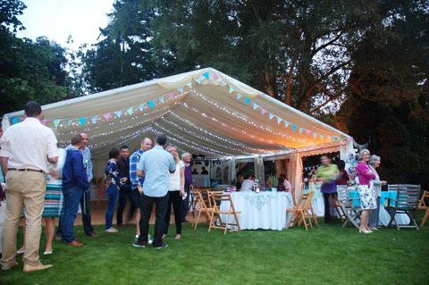 Sarah & Paul - 40th Garden Party, Hertford